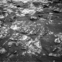 Nasa's Mars rover Curiosity acquired this image using its Right Navigation Camera on Sol 1809, at drive 3236, site number 65