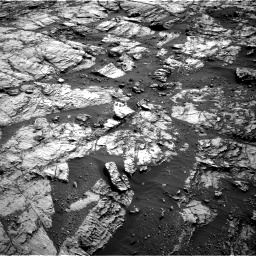 Nasa's Mars rover Curiosity acquired this image using its Right Navigation Camera on Sol 1809, at drive 3248, site number 65