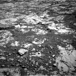 Nasa's Mars rover Curiosity acquired this image using its Right Navigation Camera on Sol 1809, at drive 3290, site number 65