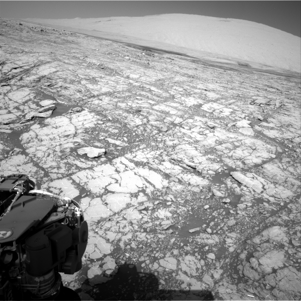 Nasa's Mars rover Curiosity acquired this image using its Right Navigation Camera on Sol 1809, at drive 3308, site number 65