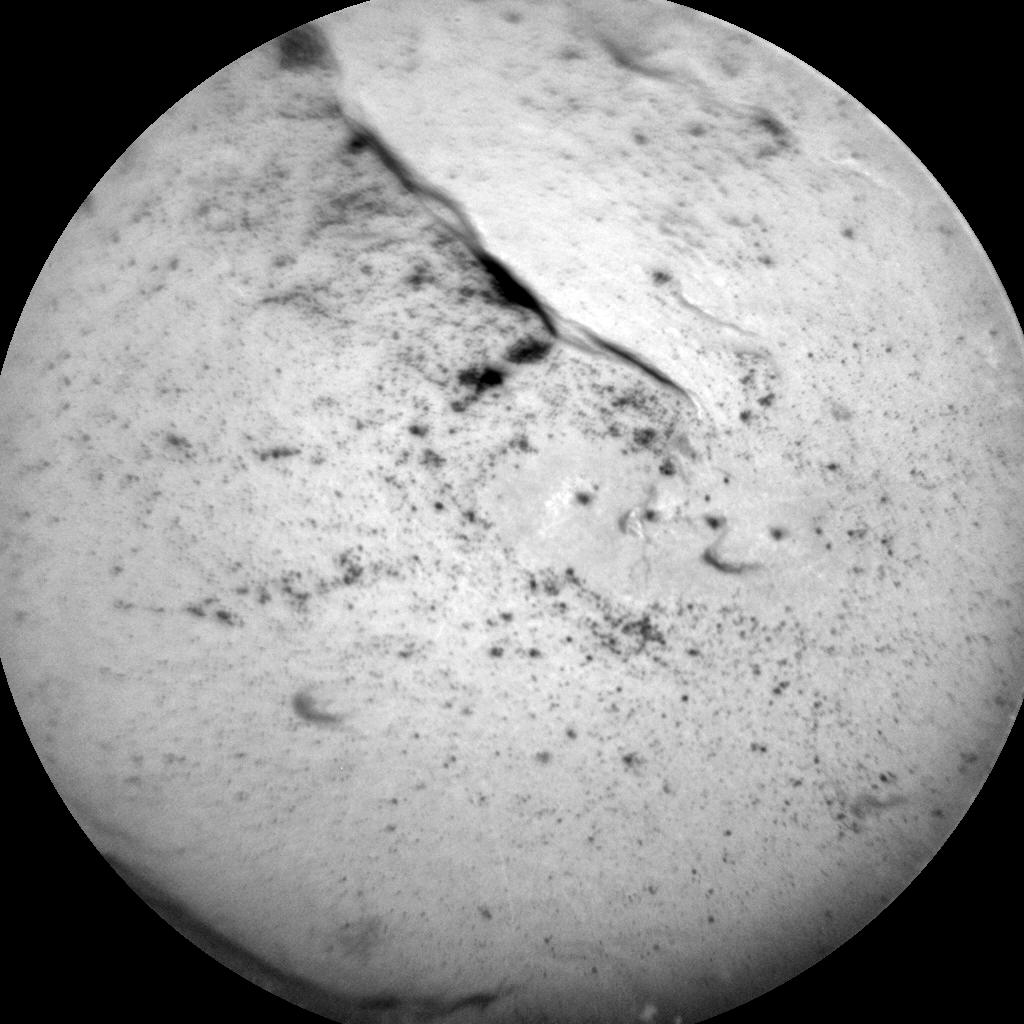 Nasa's Mars rover Curiosity acquired this image using its Chemistry & Camera (ChemCam) on Sol 1809, at drive 3200, site number 65