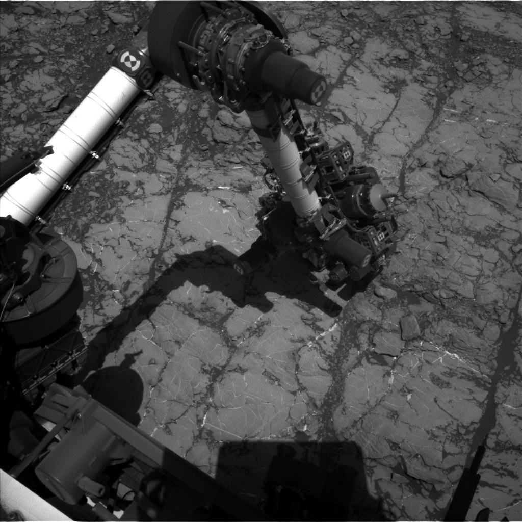 Nasa's Mars rover Curiosity acquired this image using its Left Navigation Camera on Sol 1811, at drive 3308, site number 65