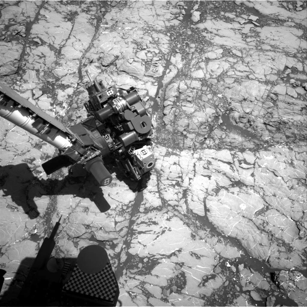 Nasa's Mars rover Curiosity acquired this image using its Right Navigation Camera on Sol 1811, at drive 3308, site number 65
