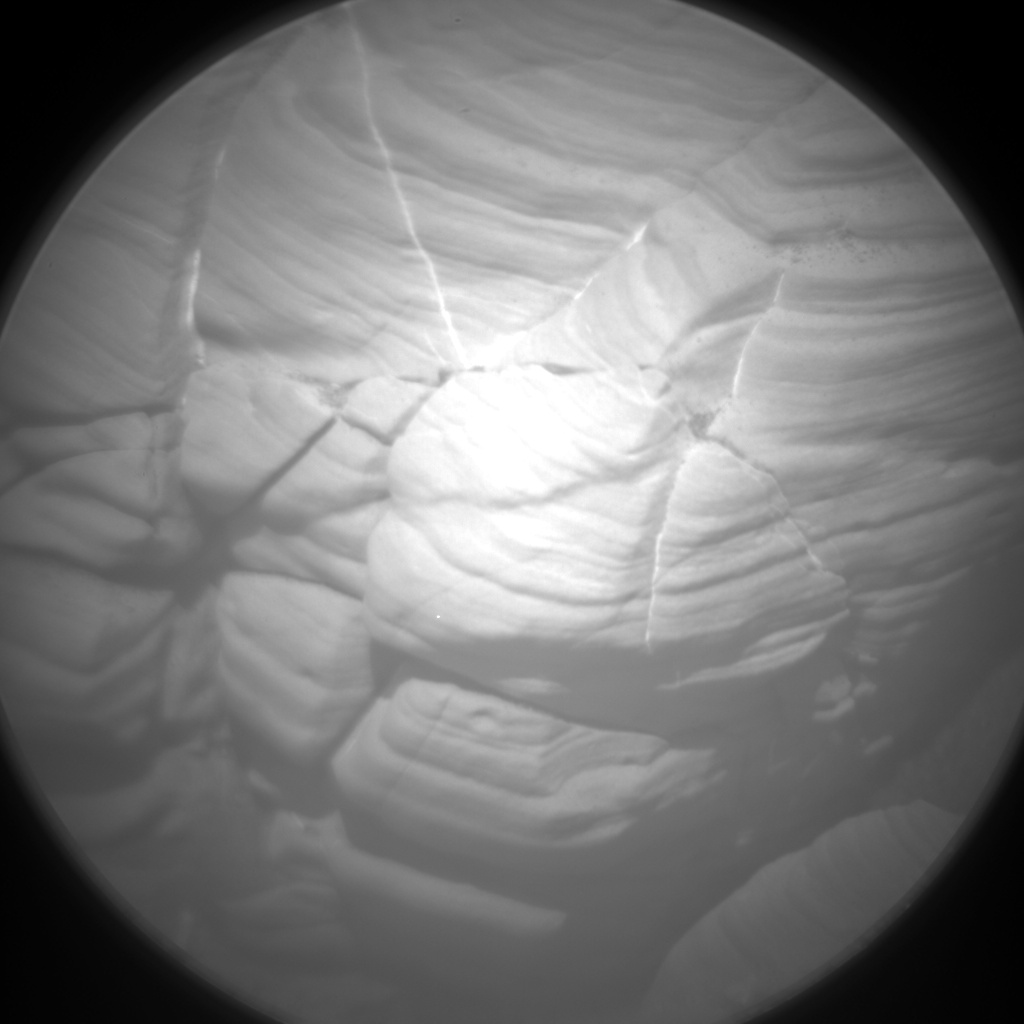 Nasa's Mars rover Curiosity acquired this image using its Chemistry & Camera (ChemCam) on Sol 1812, at drive 3308, site number 65