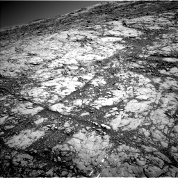 Nasa's Mars rover Curiosity acquired this image using its Left Navigation Camera on Sol 1812, at drive 3338, site number 65