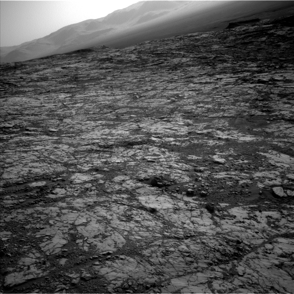 Nasa's Mars rover Curiosity acquired this image using its Left Navigation Camera on Sol 1812, at drive 0, site number 66