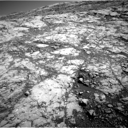 Nasa's Mars rover Curiosity acquired this image using its Right Navigation Camera on Sol 1812, at drive 3320, site number 65
