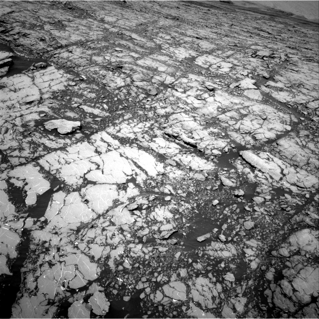 Nasa's Mars rover Curiosity acquired this image using its Right Navigation Camera on Sol 1812, at drive 3326, site number 65