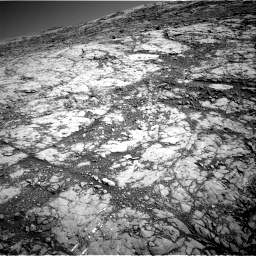 Nasa's Mars rover Curiosity acquired this image using its Right Navigation Camera on Sol 1812, at drive 3338, site number 65