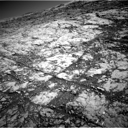 Nasa's Mars rover Curiosity acquired this image using its Right Navigation Camera on Sol 1812, at drive 3344, site number 65