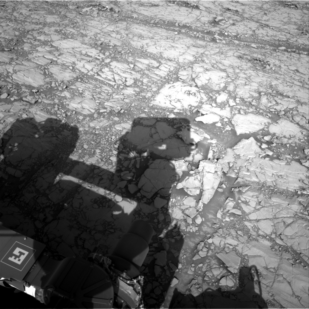 Nasa's Mars rover Curiosity acquired this image using its Right Navigation Camera on Sol 1812, at drive 0, site number 66