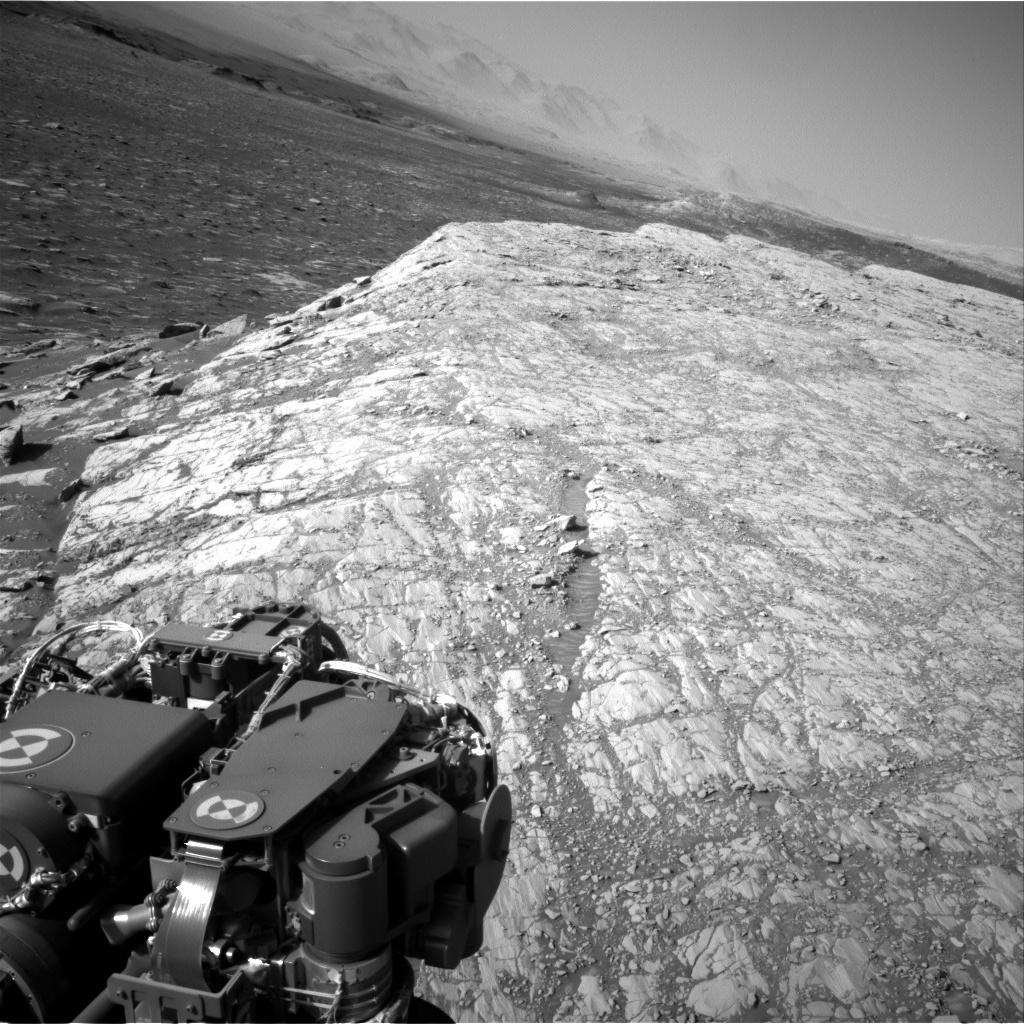 NASA's Mars rover Curiosity acquired this image using its Right Navigation Cameras (Navcams) on Sol 1812