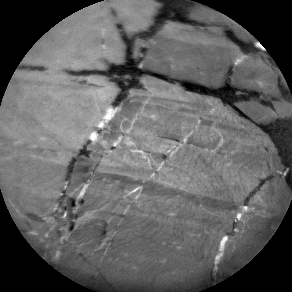 Nasa's Mars rover Curiosity acquired this image using its Chemistry & Camera (ChemCam) on Sol 1813, at drive 0, site number 66