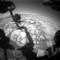 HazCam Front-Right B at 10:56 AM on Sol 1814 9:55 PM UTC 12 September 2017 FRB_558523700EDR_F0660000FHAZ00206M_