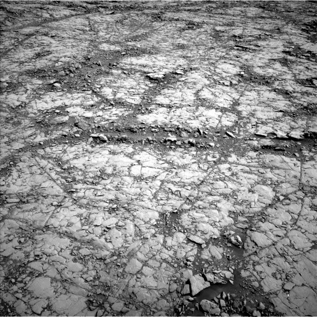 NASA's Mars rover Curiosity acquired this image using its Left Navigation Camera (Navcams) on Sol 1814