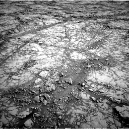 Nasa's Mars rover Curiosity acquired this image using its Left Navigation Camera on Sol 1814, at drive 78, site number 66