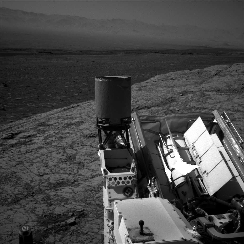 Nasa's Mars rover Curiosity acquired this image using its Left Navigation Camera on Sol 1814, at drive 84, site number 66
