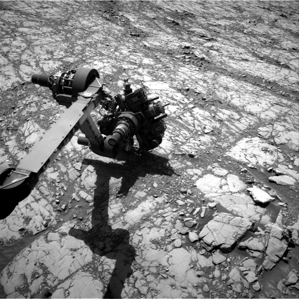 Nasa's Mars rover Curiosity acquired this image using its Right Navigation Camera on Sol 1814, at drive 0, site number 66