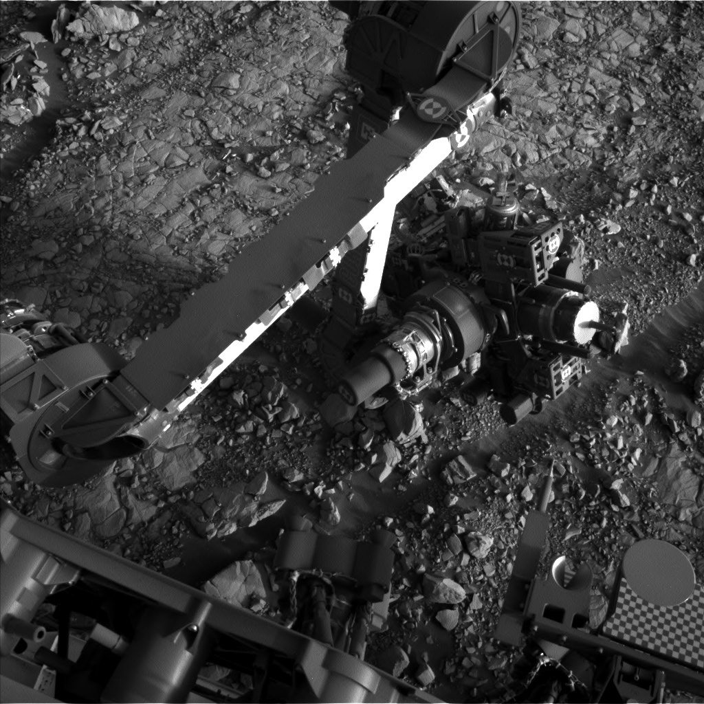 NASA's Mars rover Curiosity acquired this image using its Left Navigation Camera (Navcams) on Sol 1816
