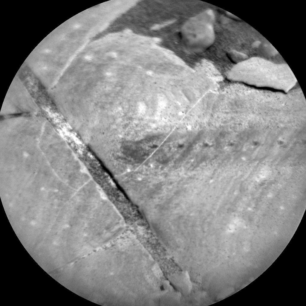 Nasa's Mars rover Curiosity acquired this image using its Chemistry & Camera (ChemCam) on Sol 1816, at drive 84, site number 66