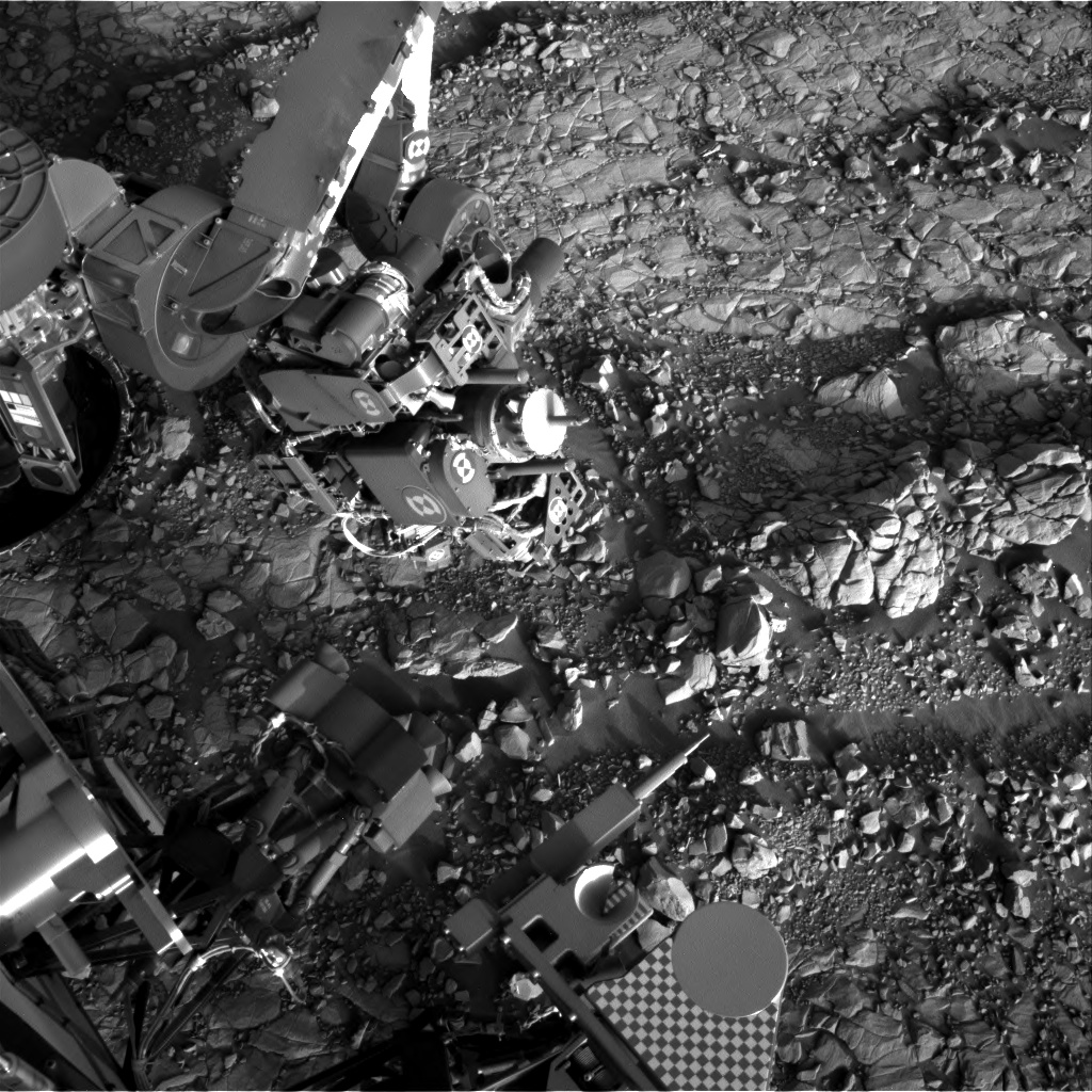 Nasa's Mars rover Curiosity acquired this image using its Right Navigation Camera on Sol 1818, at drive 84, site number 66