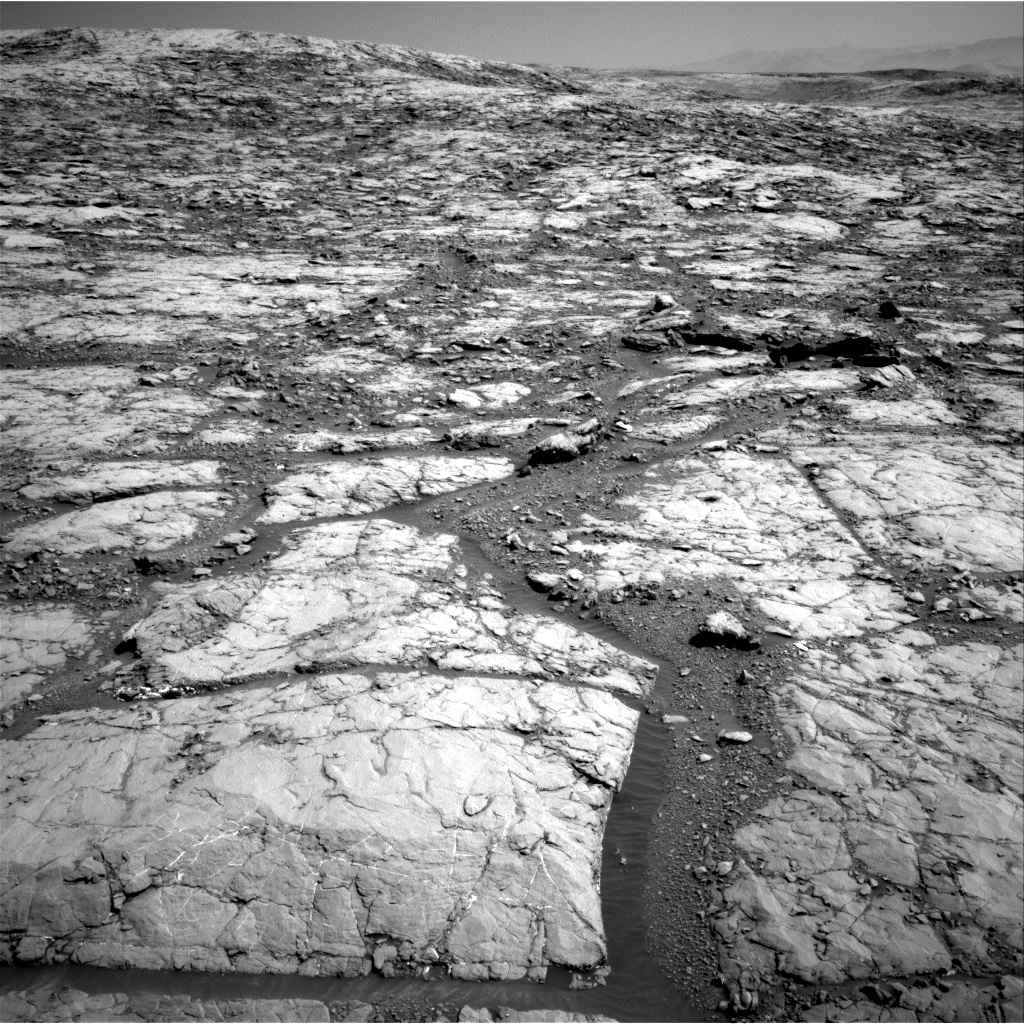 Nasa's Mars rover Curiosity acquired this image using its Right Navigation Camera on Sol 1819, at drive 246, site number 66