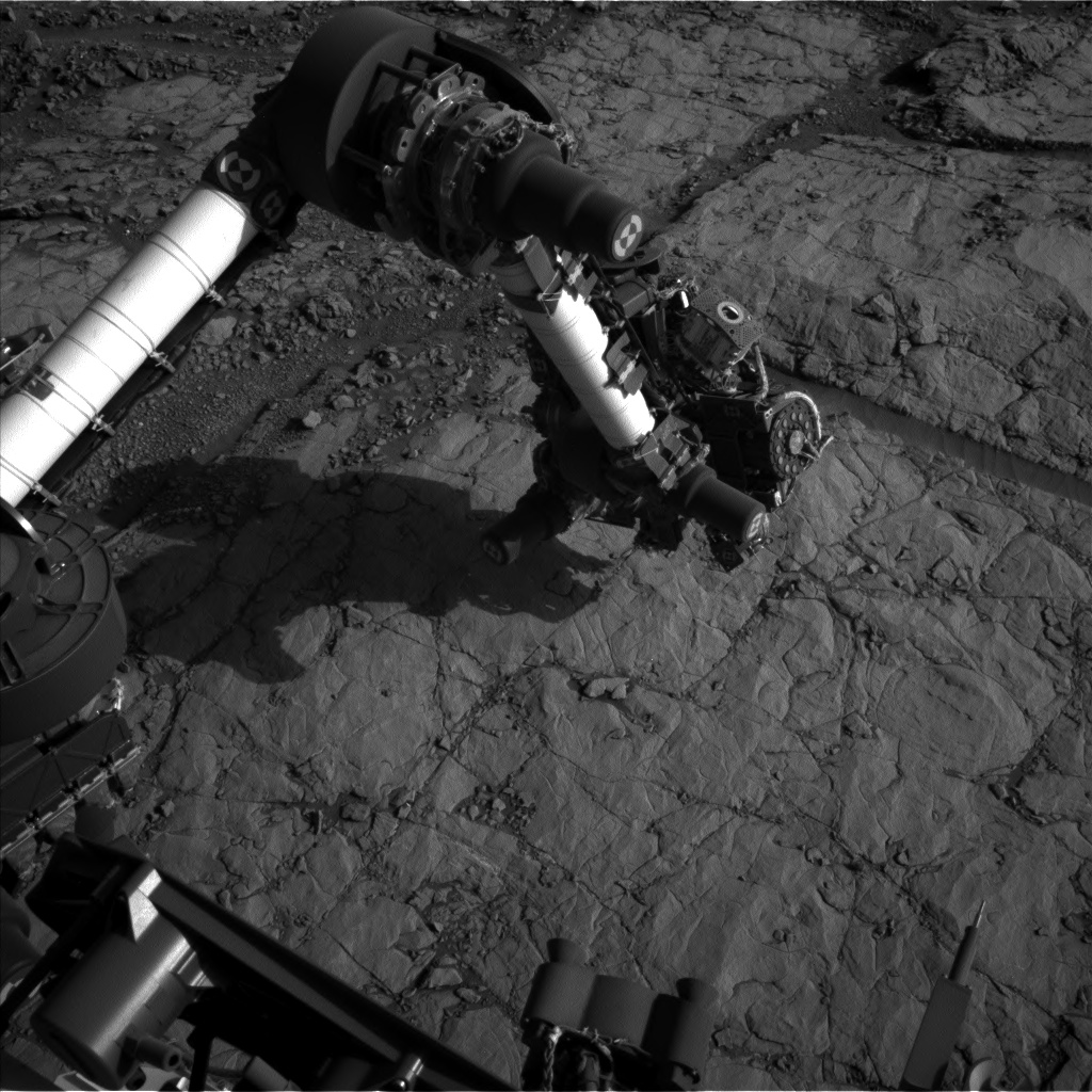 Nasa's Mars rover Curiosity acquired this image using its Left Navigation Camera on Sol 1821, at drive 246, site number 66