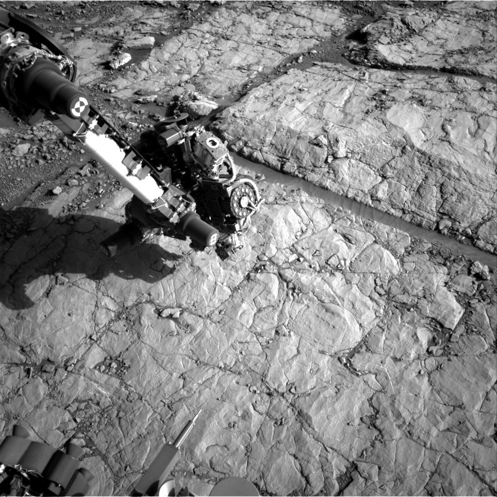 Nasa's Mars rover Curiosity acquired this image using its Right Navigation Camera on Sol 1821, at drive 246, site number 66