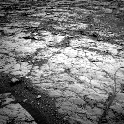 Nasa's Mars rover Curiosity acquired this image using its Left Navigation Camera on Sol 1822, at drive 258, site number 66