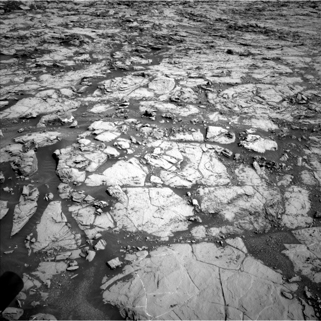 Nasa's Mars rover Curiosity acquired this image using its Left Navigation Camera on Sol 1822, at drive 366, site number 66