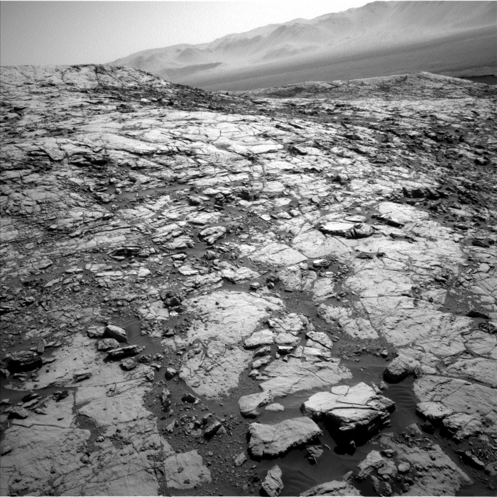 Nasa's Mars rover Curiosity acquired this image using its Left Navigation Camera on Sol 1822, at drive 384, site number 66