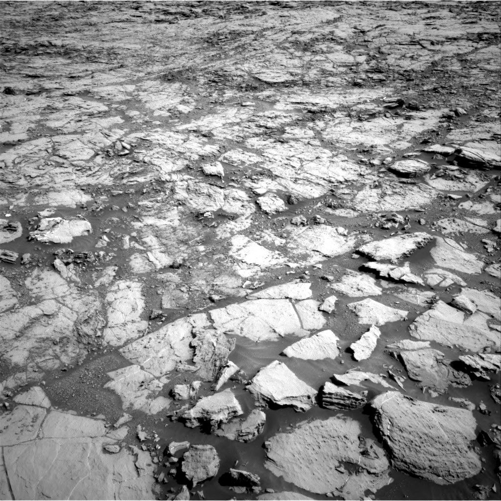 Nasa's Mars rover Curiosity acquired this image using its Right Navigation Camera on Sol 1822, at drive 366, site number 66