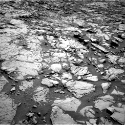 Nasa's Mars rover Curiosity acquired this image using its Right Navigation Camera on Sol 1822, at drive 378, site number 66