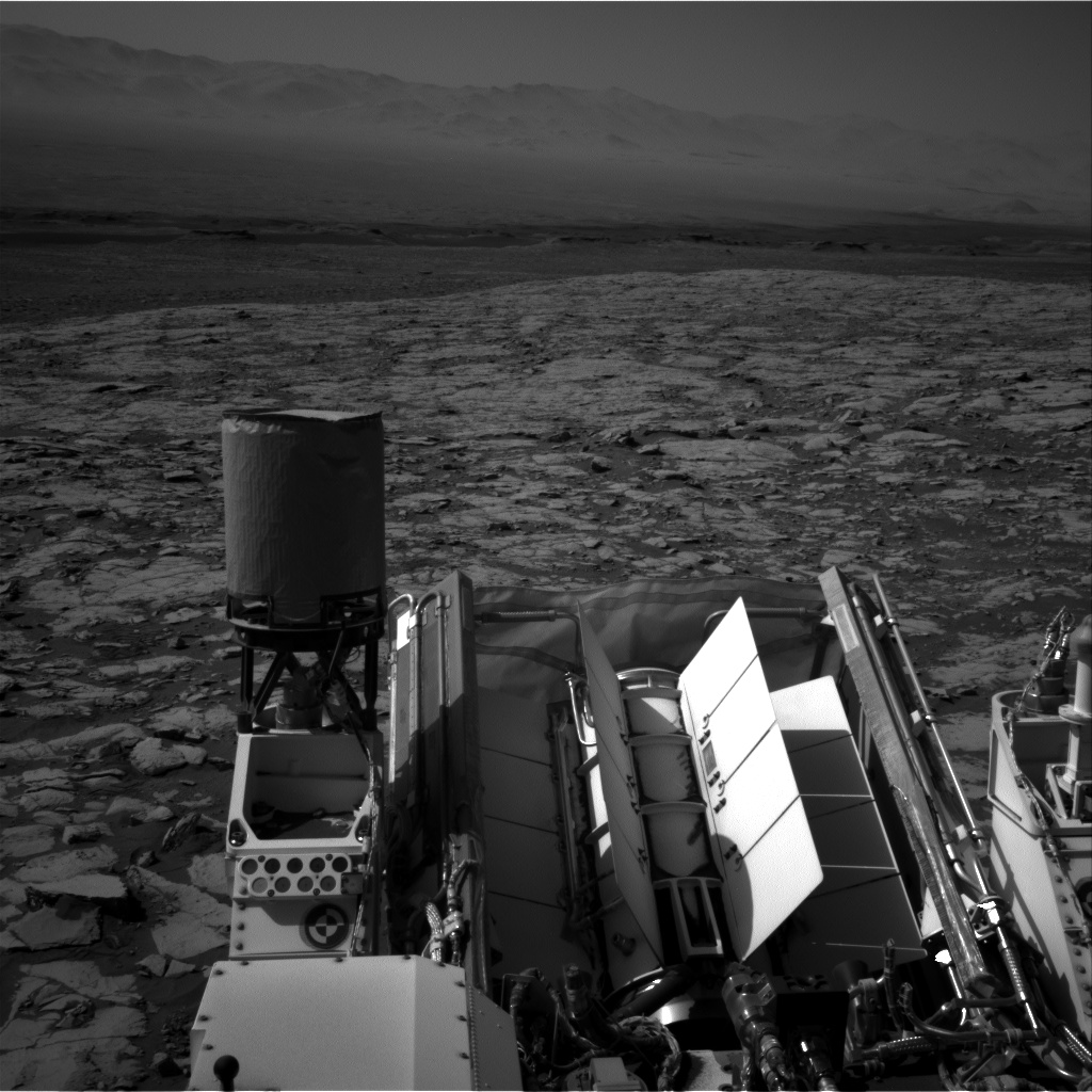 Nasa's Mars rover Curiosity acquired this image using its Right Navigation Camera on Sol 1822, at drive 384, site number 66
