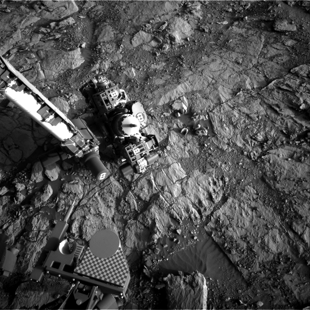 Nasa's Mars rover Curiosity acquired this image using its Right Navigation Camera on Sol 1824, at drive 384, site number 66