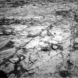 Nasa's Mars rover Curiosity acquired this image using its Left Navigation Camera on Sol 1827, at drive 414, site number 66