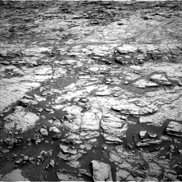 Nasa's Mars rover Curiosity acquired this image using its Left Navigation Camera on Sol 1827, at drive 432, site number 66