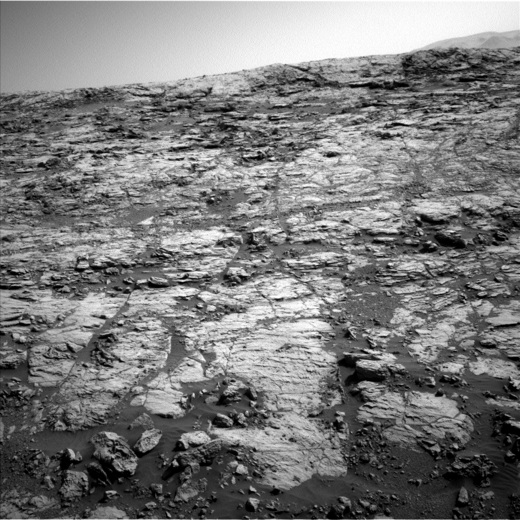 Nasa's Mars rover Curiosity acquired this image using its Left Navigation Camera on Sol 1827, at drive 450, site number 66