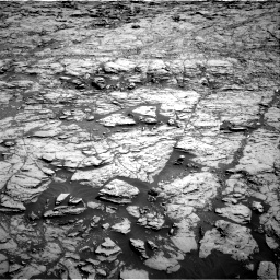 Nasa's Mars rover Curiosity acquired this image using its Right Navigation Camera on Sol 1827, at drive 426, site number 66