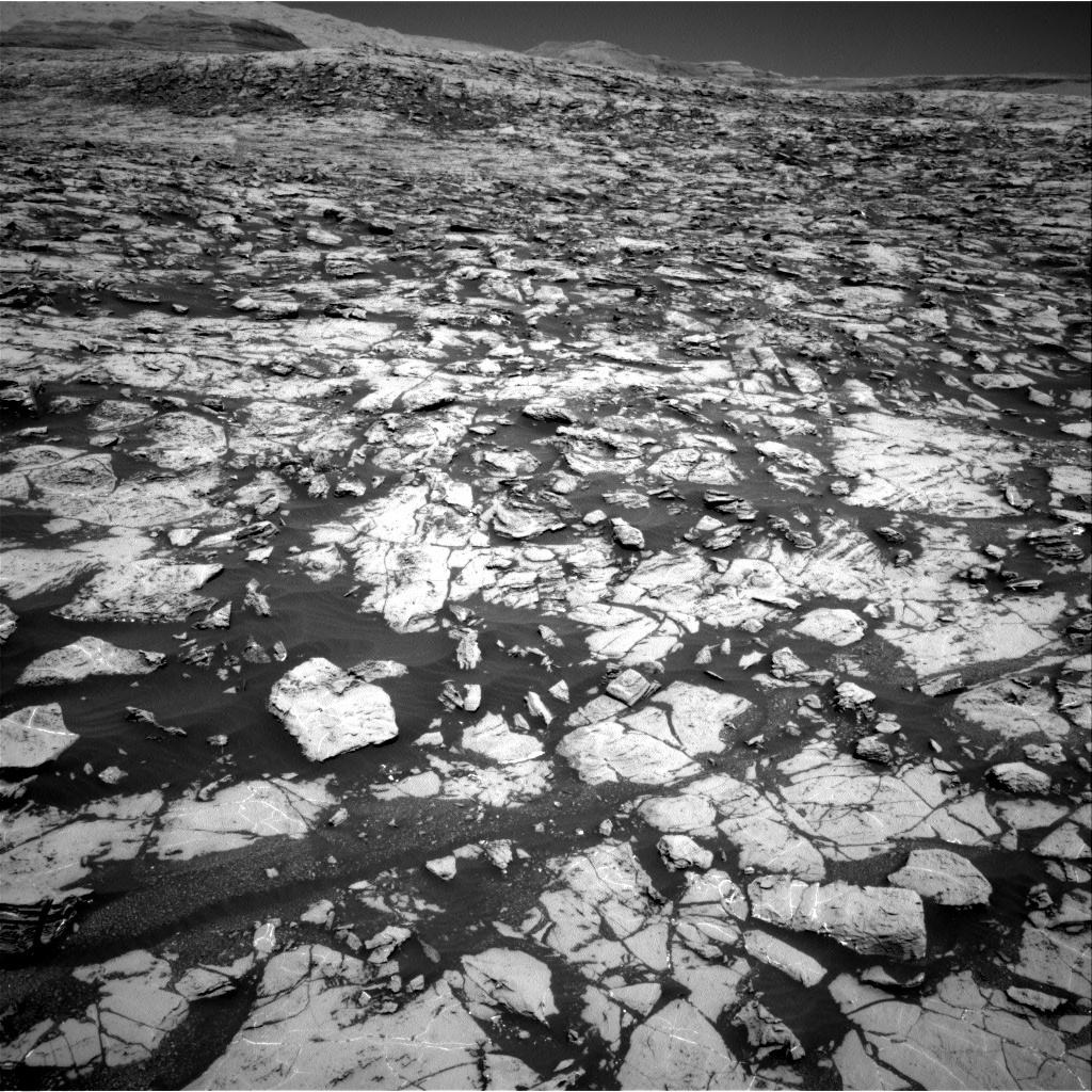 NASA's Mars rover Curiosity acquired this image using its Right Navigation Cameras (Navcams) on Sol 1827