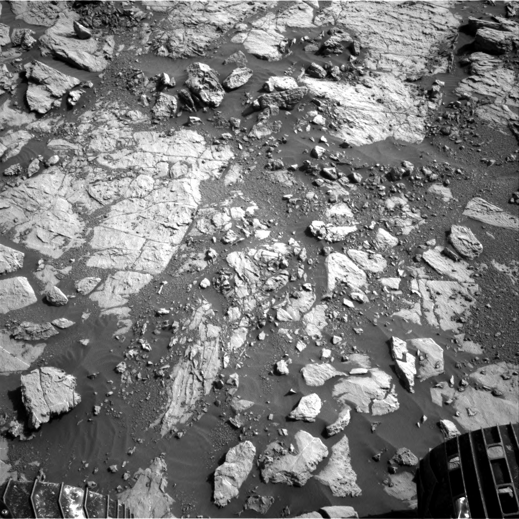 Nasa's Mars rover Curiosity acquired this image using its Right Navigation Camera on Sol 1827, at drive 450, site number 66