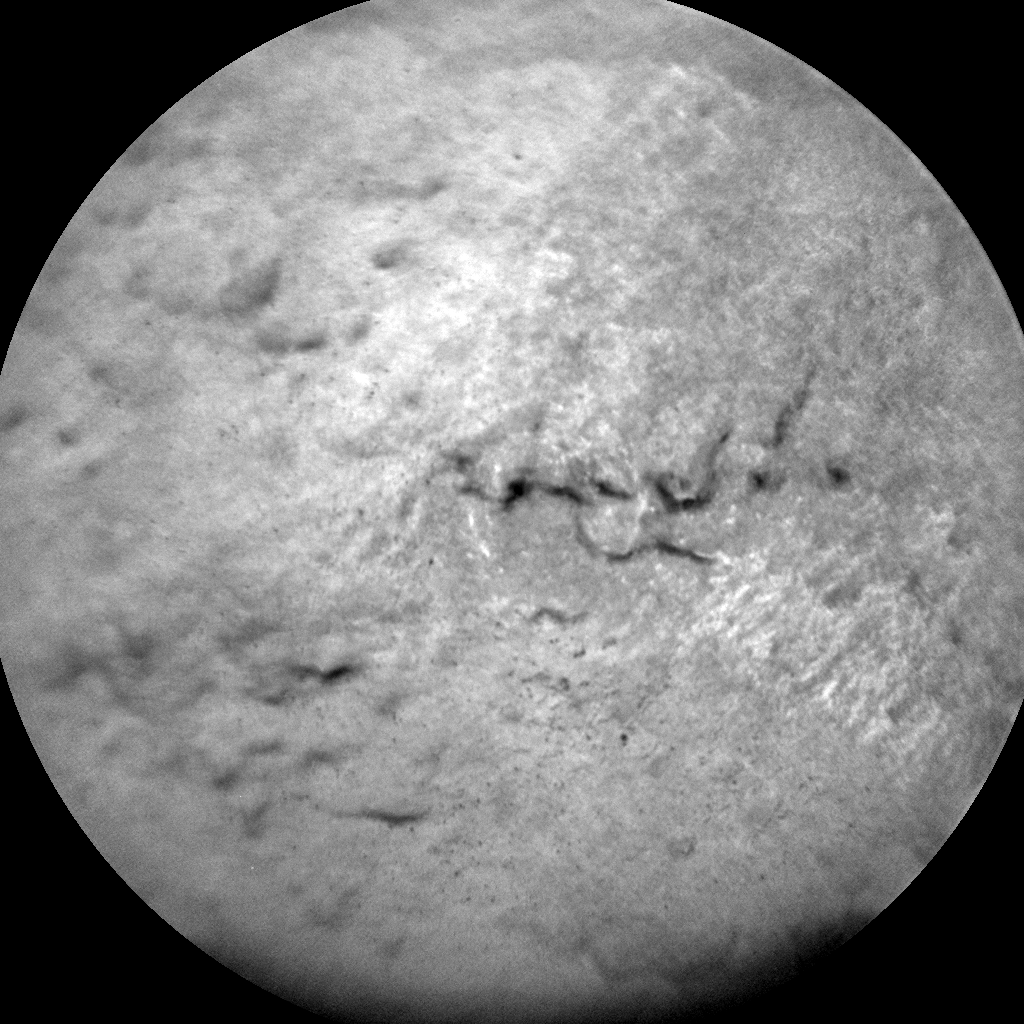 Nasa's Mars rover Curiosity acquired this image using its Chemistry & Camera (ChemCam) on Sol 1827, at drive 384, site number 66