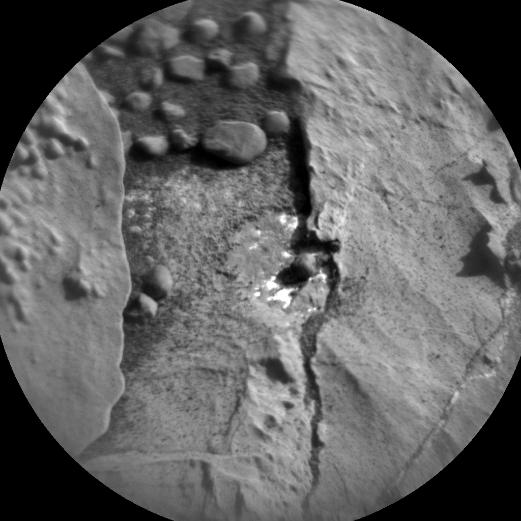 Nasa's Mars rover Curiosity acquired this image using its Chemistry & Camera (ChemCam) on Sol 1827, at drive 450, site number 66