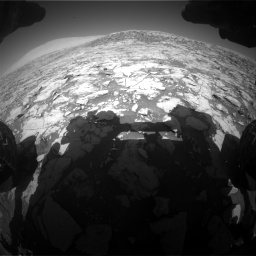 Nasa's Mars rover Curiosity acquired this image using its Front Hazard Avoidance Camera (Front Hazcam) on Sol 1828, at drive 612, site number 66