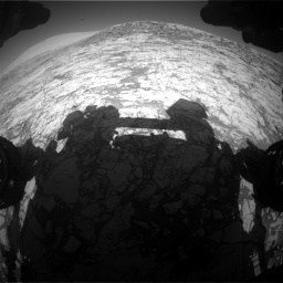 Nasa's Mars rover Curiosity acquired this image using its Front Hazard Avoidance Camera (Front Hazcam) on Sol 1828, at drive 642, site number 66