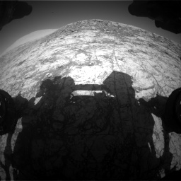 Nasa's Mars rover Curiosity acquired this image using its Front Hazard Avoidance Camera (Front Hazcam) on Sol 1828, at drive 666, site number 66