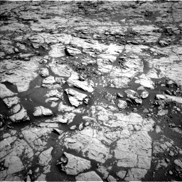 Nasa's Mars rover Curiosity acquired this image using its Left Navigation Camera on Sol 1828, at drive 456, site number 66