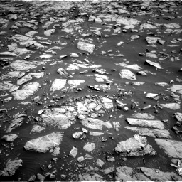 Nasa's Mars rover Curiosity acquired this image using its Left Navigation Camera on Sol 1828, at drive 522, site number 66