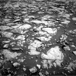 Nasa's Mars rover Curiosity acquired this image using its Left Navigation Camera on Sol 1828, at drive 558, site number 66