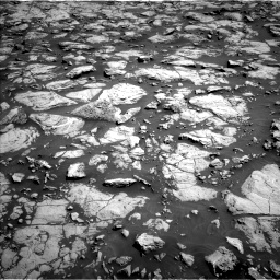 Nasa's Mars rover Curiosity acquired this image using its Left Navigation Camera on Sol 1828, at drive 570, site number 66